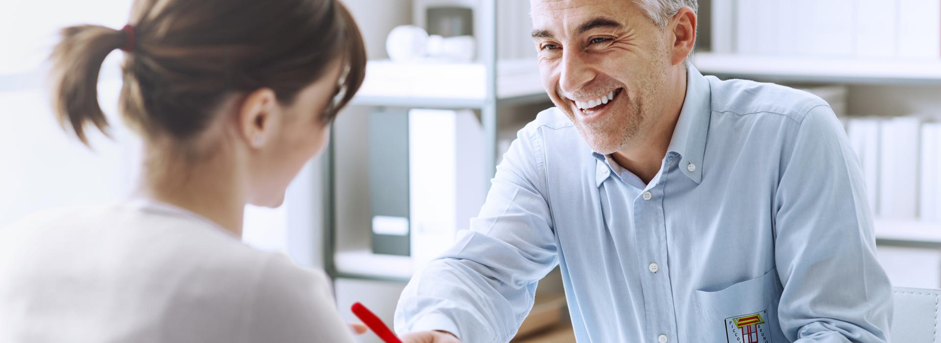 Consulenza personalizzata e professionale